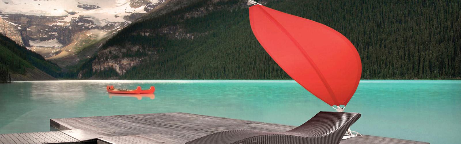 Sonnenschirm Von Umbrosa Zimmermann Sonnenschutzsysteme
